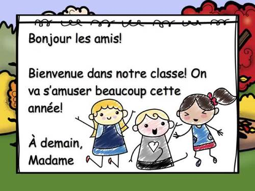 September Morning Messagesmessages Du Matin French