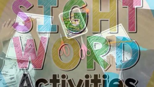 Kindergarten Sight Word Worksheets {Editable!} Sight Words for Kindergarten