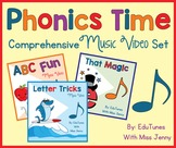 Phonics Time Standards-Based Video Set: Videos ONLY   Use