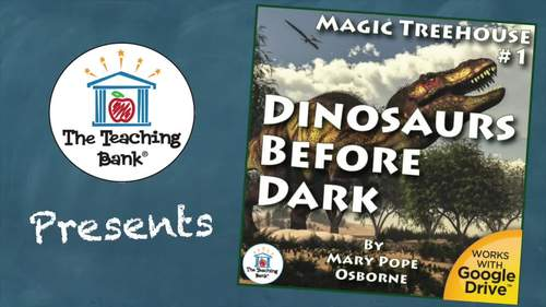 Magic Tree House #1 Dinosaurs Before Dark Novel Study Book Unit