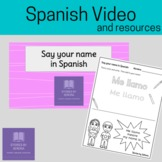 Spanish Video--Say your name