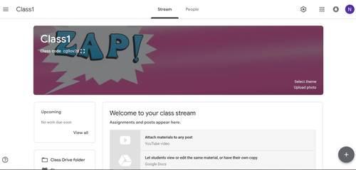 Google Classroom Animated Headers (Comic)