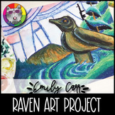 Emily Carr Art Project, Raven in Forest