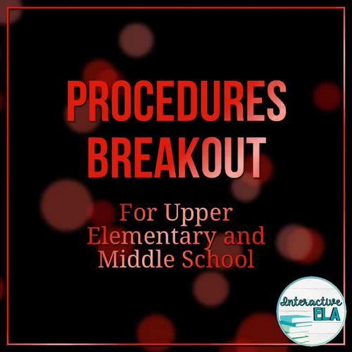 Procedures Breakout