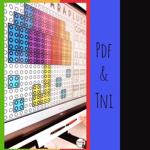 ATELIERS LEGO - Reproduis les motifs (imprimer/digital) PRINTEMPS