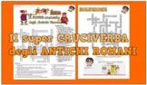 Cruciverba sugli Antichi Romani in cinque differenti versi