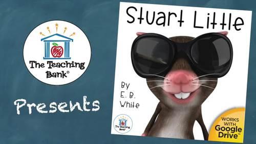 Stuart Little Novel Study Book Unit Distance Learning
