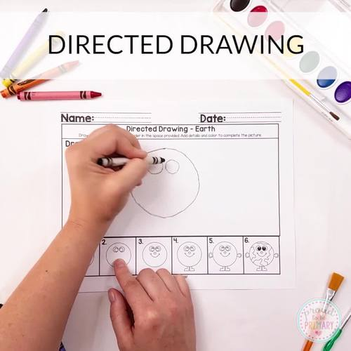 How to Draw Directed Drawings for April  | Distance Learning
