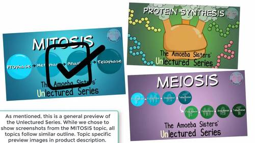 Amoeba Sisters Unlectured Series- MEIOSIS