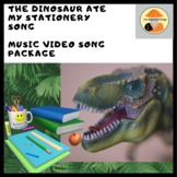 Japanese Song & Downloadable Video Package: 'The Dinosaur