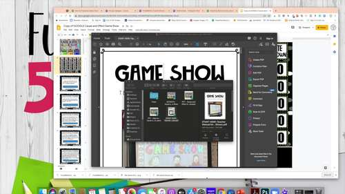 ELA Game Show ALL ACCESS Bundle | ELA Review Activities | Distance Learning