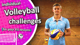 Fun Volleyball challenges for PE (grade 3-6) | Teach Volle