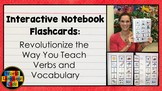 French, Spanish Interactive Notebook Flashcards:  What The