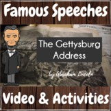 Famous Speeches Abraham Lincoln The Gettysburg Address Vid