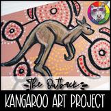 Australian Outback Art Project, Kangaroo Art Lesson
