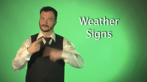 E24: ASL Vocabulary for Calendar, Time and Weather - Sign With Robert
