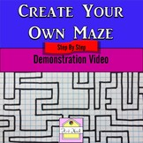 Make Your Own Maze Activity Video