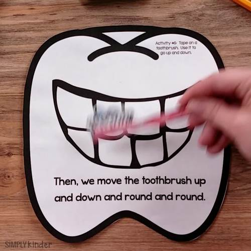 Dental Health Month Activities for Kindergarten by Simply Kinder