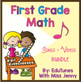 1st Grade Math COMPLETE Video Set   Share in Distance Lear