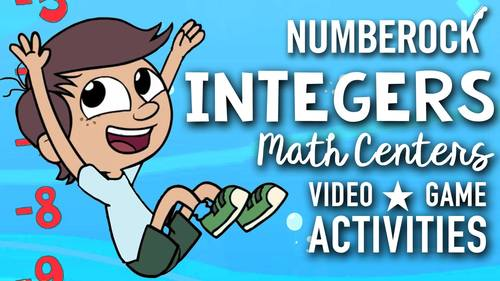 Introduction to Integers: Multimedia Bundle ★ Game, Video and Activities