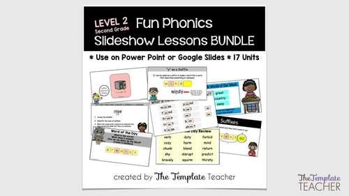 Third Grade Phonics Slideshow Lessons Unit 4