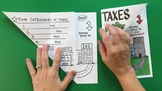 Math Doodle - Personal Financial Literacy Foldables