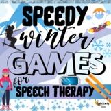 Speedy Winter Speech for Speech Therapy