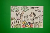Let's Draw Animals that are Herbivores!