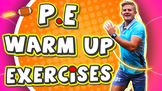 (Free video) Warm up routine for P.E lessons