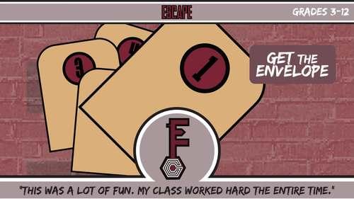 Escape ELA - Similes & Metaphors (Planets Theme)- Escape the Room Style Activity