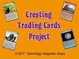 Creating Trading Cards Project (Computer Lab Activity)