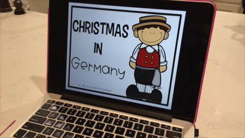 Christmas Around the World Digital Resource with Google Slides™ BUNDLE