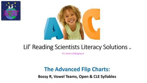 Vowel Teams - Picture Prompts - Flip Chart (Spellings for Long E) (OG)