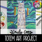 Emily Carr Art Project, Totem and Forest