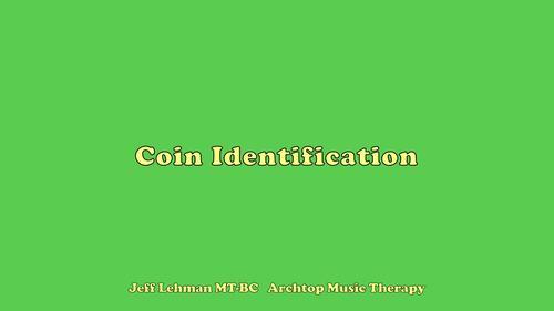Coin Identification - Quarter, Dime, Nickel, Penny (BUNDLE)