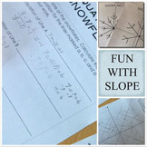Linear Equations Snowflake Project an Introduction