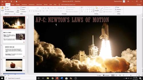 AP Physics C - Newton's Laws (Dynamics) Lesson Plan Bundle