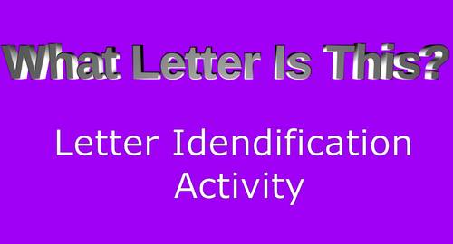 What Letter is This?  Letter Identification L,Q,W
