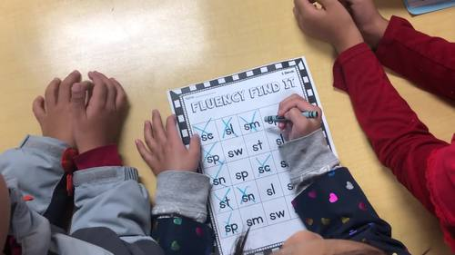 halloween fluency find it  2nd grade  by tickled pink in
