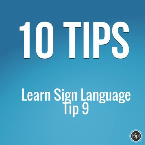 April 10 More, 10 Less, Counting By 10, ASL Sign Language