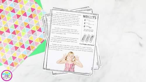 Main Idea and Details in Nonfiction - 4th Grade & 5th Grade  RI.4.2 / RI.5.2