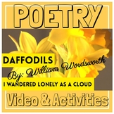 "ELA Poetry ""I Wandered Lonely as a Cloud"" (Daffodils) Vide"