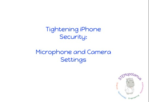 iPhone and iPad Security: Camera and Microphone Permissions for Internet  Safety