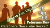 """Thank You, Veterans!"" Veterans Day Rap Song for Reading C"