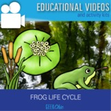 Biology Life Cycles: Frog Life Cycle Video + Activities Kit