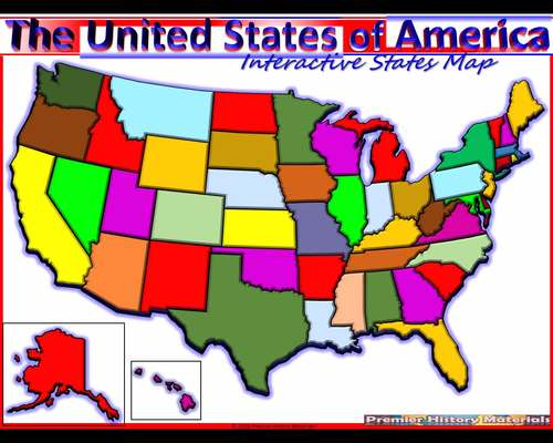 USA Animated Interactive Map (All 50 States, Statehood, Nickname and on realistic 50 states map, half marathon 50 states map, travel 50 states map, clickable state map, interactive 50 states and capitals, blank 50 states map, blank middle east and north africa map, unique 50 states map, print 50 states map,
