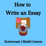 How to Write an Essay  Video Lecture with 4 Supporting Documents