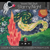 Van Gogh's Starry Night - Painting what you feel and see -