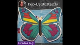 Butterfly Pop-Up Activity from A Space to Create