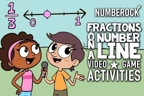 Fractions on a Number Line: Comparing Fractions Worksheets, Game, Video & More